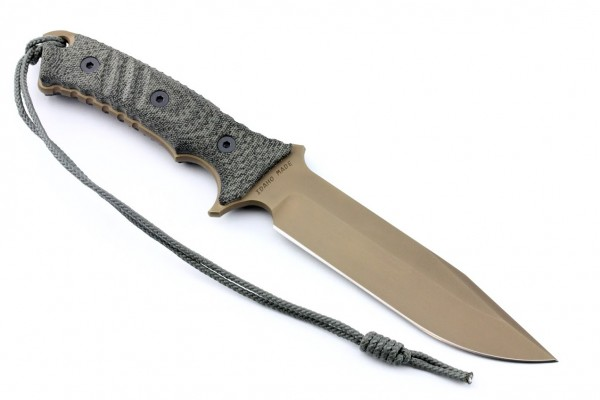 Chris Reeve Pacific Clip Point Flat Dark Earth