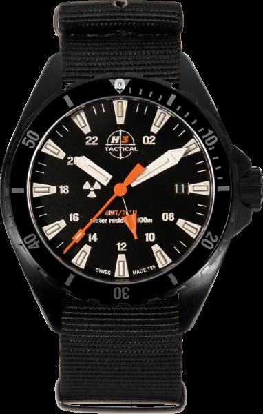 H3 TACTICAL Trooper Diver GMT H3 Uhr H3.3112.786.2.4
