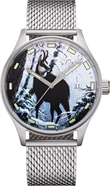 Swiss Timer Trapper TR.5101.953.1.1