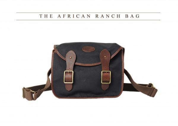 Melvill & Moon African Ranch Bag Black