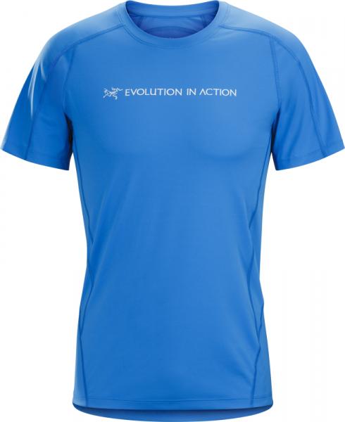 Arcteryx Phasic Evolution Crew Neck Shirt SS Men's Rigel