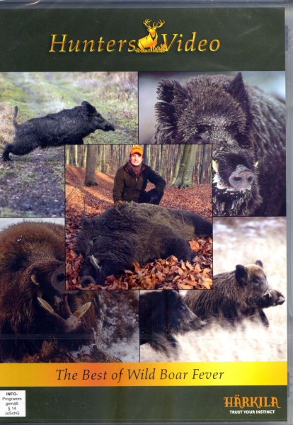 Hunters Video - The best of Wild Boar Fever (DVD)