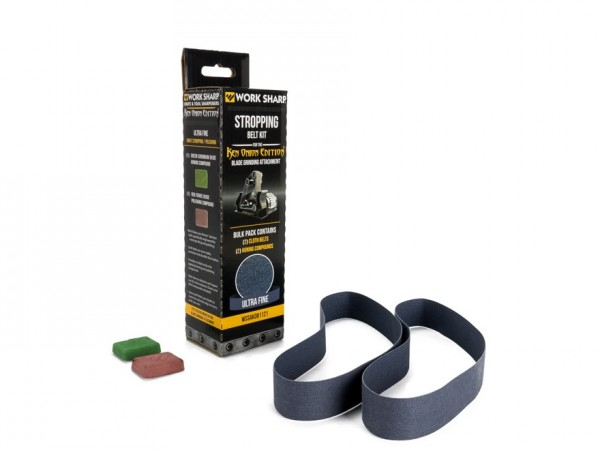 Tool Sharp Cloth Belt Stropping Kit