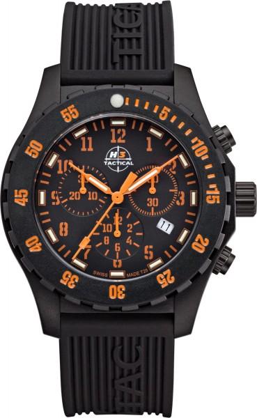 H3 TACTICAL Trooper Chronograph H3 Uhr Orange H3.3322.795.1.3