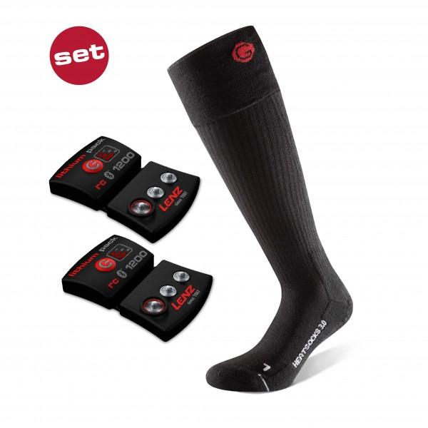 Lenz Set Lithium Pack rcB 1200 + Heat Sock 3.0 unisex