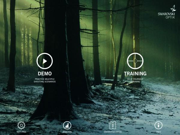 Swarovski Vorhaltemaß-App