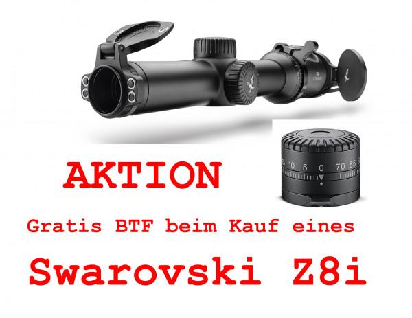 Swarovski Z8i 0,75-6x20 inclusive gratis Ballistik-Turm BTF