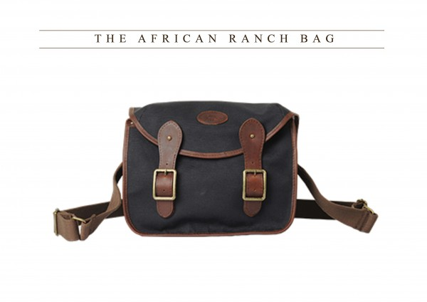 Melvill & Moon African Ranch Bag Black