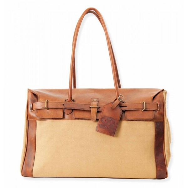Melvill & Moon Nairobi Race Day Bag Canvas