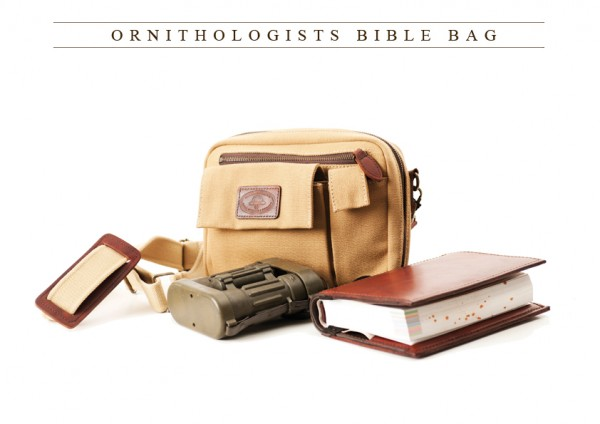 Mellvill & Moon Ornithologists Bible Bag
