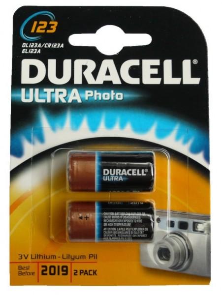 Duracell DL123A / CR123A