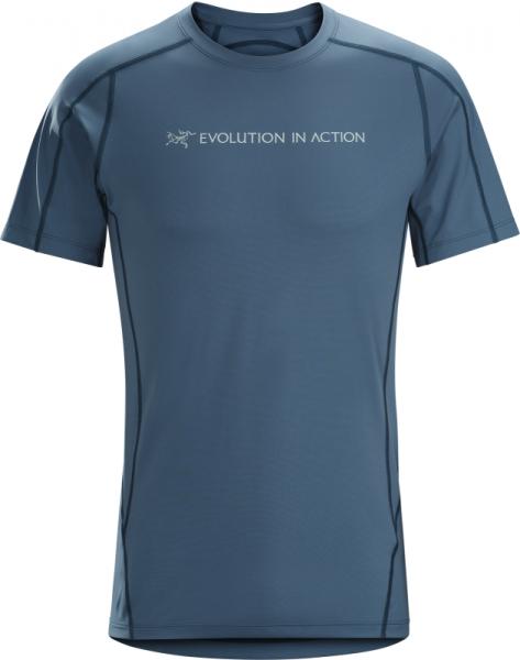 Arcteryx Phasic Evolution Crew Neck Shirt SS Men's Cosmic